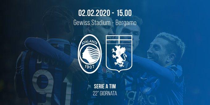 Match Day 22 Preview: Atalanta vs. Genoa - Atalanta Passione